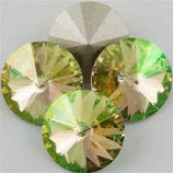 Rivoli Swarovski (1122) 14mm Luminous Green