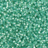 Delica 11/0   (DB626) Verdino Alabaster Silverline Dyed