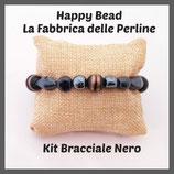 Kit Bracciale Base Cavetto Nero