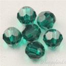 Swarovski Bead 5000 - 3 mm Sfera Emerald