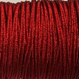 Cordoncino Soutache Metalizzato Rosso