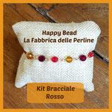 Kit Basc Bracelet with Round Swarovski Red