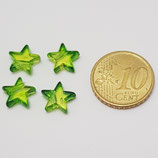 Stella 10mm Verde Plastica
