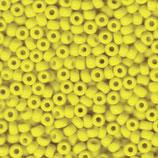 Round Rocailles 6/0 col.404 Giallo Opaque