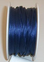 Coda di Topo Satin 2mm Blu