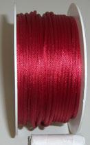Coda di Topo Satin 2mm Rosso Scuro