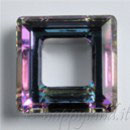 Square Ring Swarovski (4439) 14mm Crystal Vitrail Light