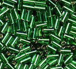 Bugle Beads 3mm col.16 Verde