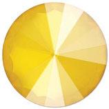 Rivoli Swarovski (1122) 12mm Shiny Lacquer Buttercup