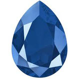 Cabochon Goccia (4320)Swarovski  18x13mm Shiny Lacquer Royal Blue