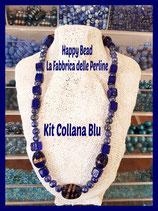 Kit Collana Base Cavetto Blu