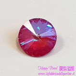 Rivoli Swarovski (1122) 12mm Crystal Royal Red DeLite