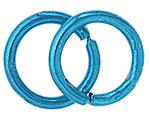 Anello Liscio Aperto 6,5mm blu