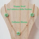 Kit Wire Collana Bloom versione Verde Menta