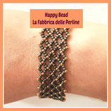 Kit Miyuki Net Bracelet Bronze Matt / Copper