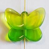 Farfalla Grande 24x28mm  Verde Lime  in Plexiglass