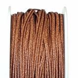 Cordoncino Soutache Metalizzato Marrone