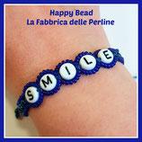 Kit Macramé BASE Letter Bracelet Blue China