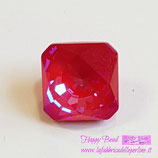 Cabochon Kaleidoscope Square (4499)Swarovski  14mm Delite Royal Red