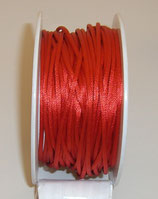 Coda di Topo Satin 2mm Rosso