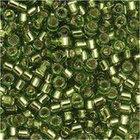 Delica 11/0   (DB1207) Verde Oliva Silverline