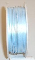Coda di Topo Satin 1mm Azzurro