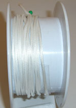 Coda di Topo Satin 2mm Bianca