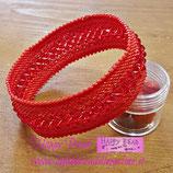 KIT Bracciale Bangle  Colore Rosso