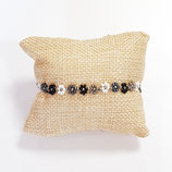 Kit Miyuki Flora Necklace / Bracelet Black / Greys