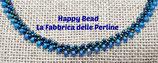 Kit Saint Petersburg Necklace Stitch  Basic Blue / Light Blue