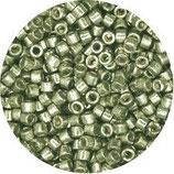 Delica 11/0   (DB1845) Verde Metallico Galvanize Duracoat