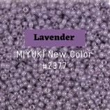 Round Rocailles 11/0 col.2377 Lavender Viola