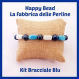Kit Bracciale Base Cavetto Blu