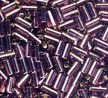 Bugle Beads 3mm col.13 Ametista
