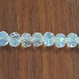 Cipollotti Sfacettati 3x4mm Crystal AB
