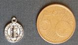 Ciondolo Metallo Madoninna Tonda 10mm