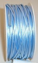 Coda di Topo Satin 2mm Azzurro