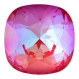 Cabochon Quadrato FB Swarovski (4470) 12mm Delite Royal Red