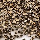 Square Beads mis.4x4x4 (SB457) Bronzo