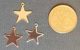 Ciondolo Metallo Stella 10mm