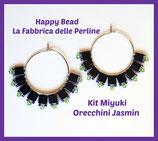 Kit Miyuki Jasmin Earrings Black