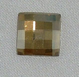 Chessboard FB Swarovski (2493) 12mm Crystal Golden Shadow