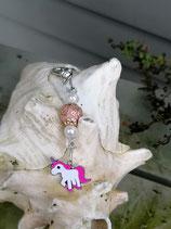 Einhorn Schlüsselanhänger Holy Rose