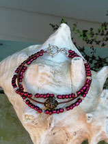 Mehrsträngiges Perlen Armband Theodora