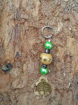 Schlüsselanhänger Baum des Lebens Gold 3