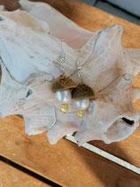 Perlen Ohrringe Atropa