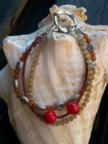 Mehrsträngiges Ethno Perlen Armband Soraya