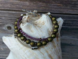 Mehrsträngiges Ethno Perlen Armband Hekate