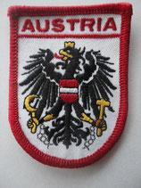 """Aufnäher Österreich 5 """"Austria"""""""
