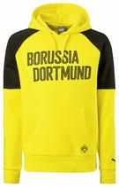 Kapuzen Hoody Dortmund gelb/sw